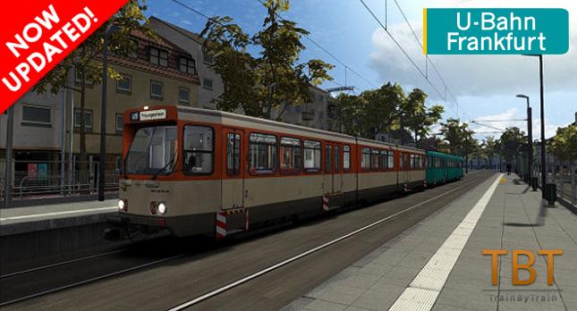 U-Bahn Frankfurt updated