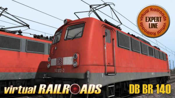 Virtual Railroads DB BR140 Expert Line / Falns 121
