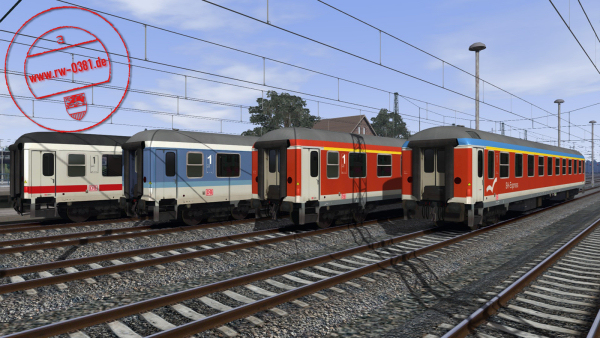 3D ZUG Compartment Coaches Aimz 261