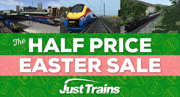 Just Trains Easter Sale