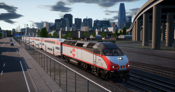 Caltrain MP36PH-3C 'Baby Bullet' Loco Add-On