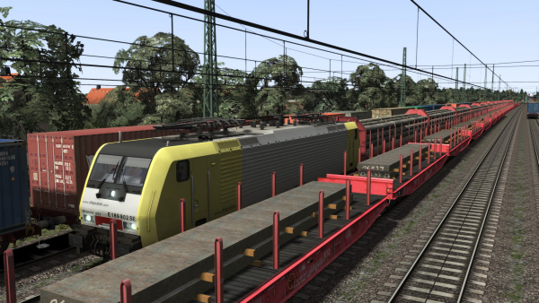 3D ZUG Freight Wagons Pack