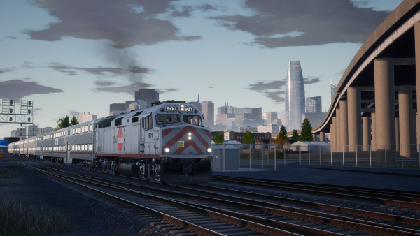 Peninsula Corridor: San Francisco - San Jose Route Add-On