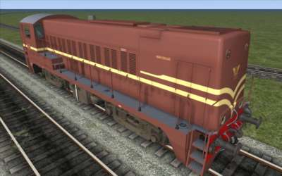 Screen shot for ChrisTrains NS2200 Diesel Locomotive