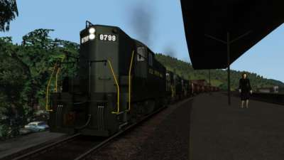 Screen shot for Trains & Drivers Vol. 2: Horseshoe Curve in the 1950s & 1960s