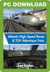 Atlantic High Speed Route & TGV Atlantique Train