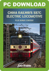 China Railways SS7C Electric Locomotive + ChengYu Part 2 route and Rolling Stock Pack