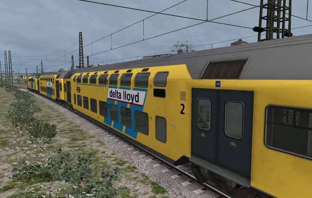 ChrisTrains NS DD-AR Passenger Train