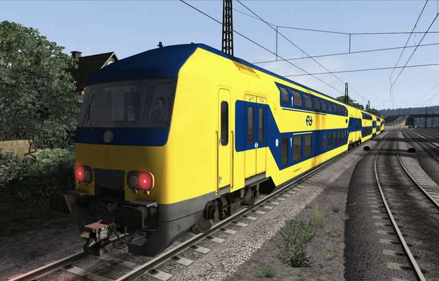 ChrisTrains NS DDZ / NIZ Passenger Train