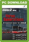 OMSI Bus Simulator 2 - Three Generations add-on