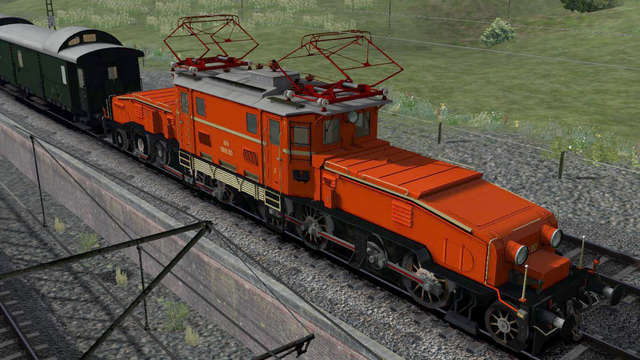 Virtual Railroads OeBB 1189 Crocodile