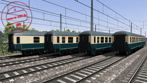 3D ZUG DB Coaches Blue