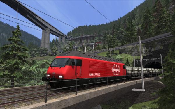 Gotthardbahn Alpine Classic: Erstfeld – Bellinzona Route Add-On