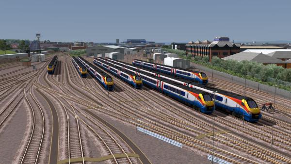 Midland Main Line: Sheffield-Derby