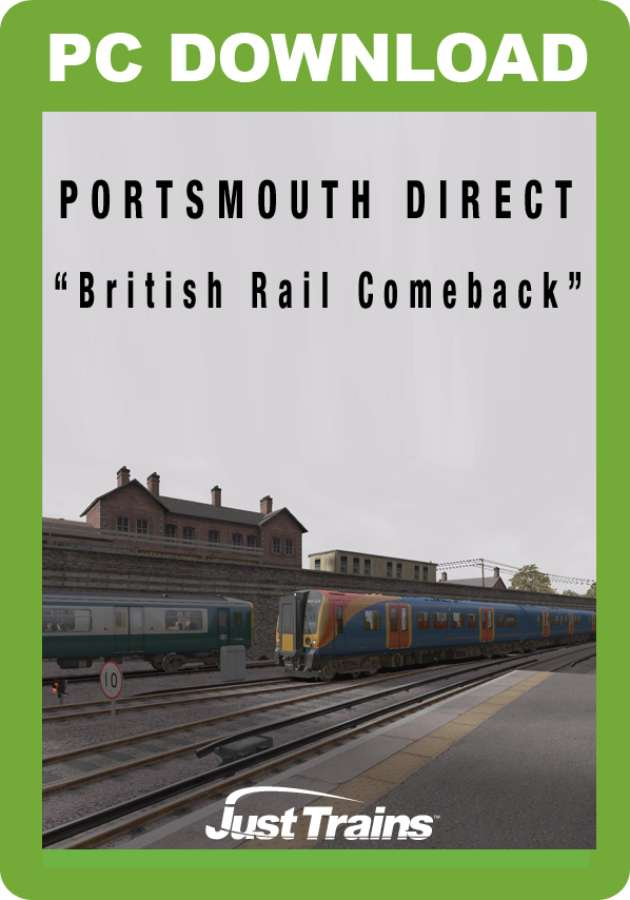 Just Trains - Portsmouth Direct 'British Rail Comeback