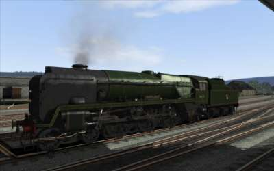 Screen shot for Digital Traction Rebuilt Bulleid Light Pacific