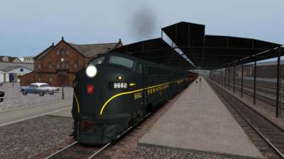 Screen shot for Trains & Drivers Vol. 5 - Horseshoe Curve V2 / Return to The 60s