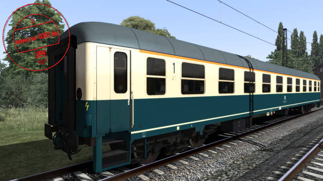 3D ZUG DB Coaches Blue