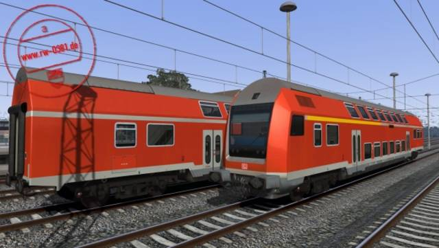 3D ZUG Görlitz double-deck train