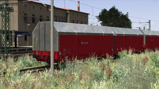 3D ZUG HCCRRS Auto Transport Wagon
