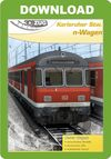 3D ZUG Karlsruher Stw. n-Wagen (Traffic Red)