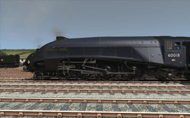 A4 Pacific Class British Railways Add-on Pack