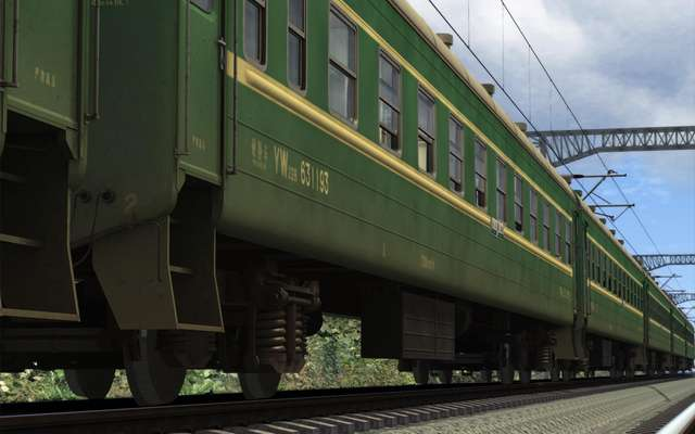 China Railway 22 Series Passenger Coaches