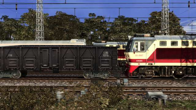SS7C Electric Locomotive