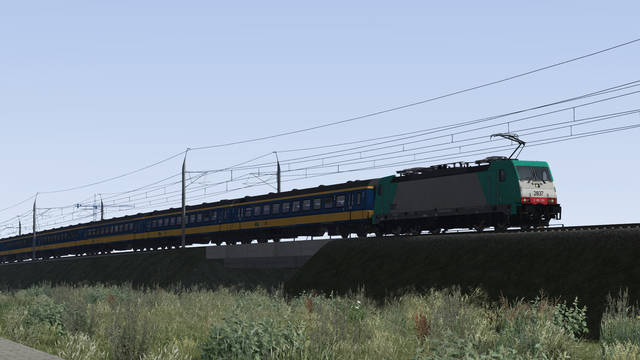 ChrisTrains NS Traxx 186 + ICRmh Wagons