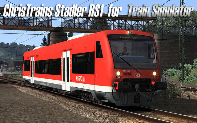 ChrisTrains Stadler RS-1