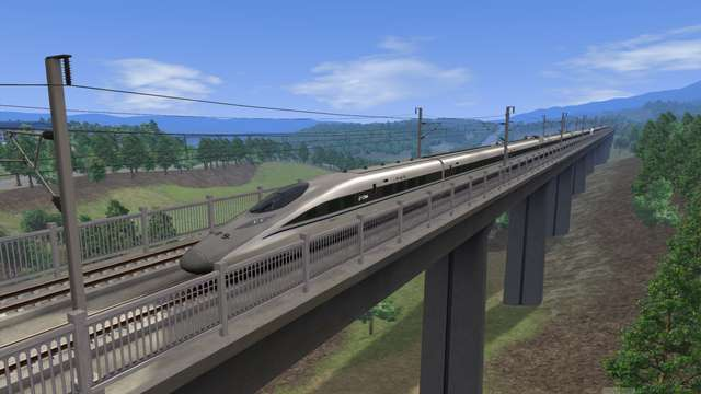 CRH380A High Speed Train