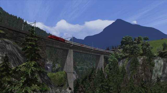 Gotthardbahn Alpine Classic: Erstfeld – Bellinzona Route Add-On