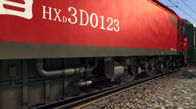 HXD3D Chinese Railways Electric Locomotive
