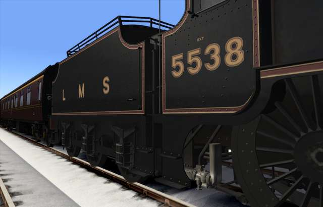 LMS Patriot 'Baby Scot'
