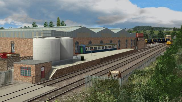 Midland Main Line: Barrow Hill Roundhouse Extension