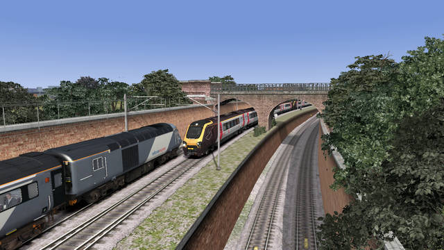 Newcastle to York Modern Scenario Pack + Voyager Advanced