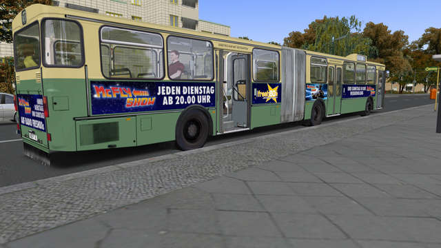Just Trains - OMSI 2 Add-on - Citybus O305G