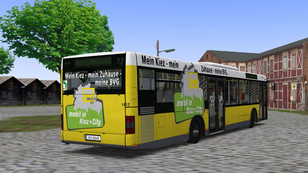 just trains omsi 2 add on man citybus series. Black Bedroom Furniture Sets. Home Design Ideas