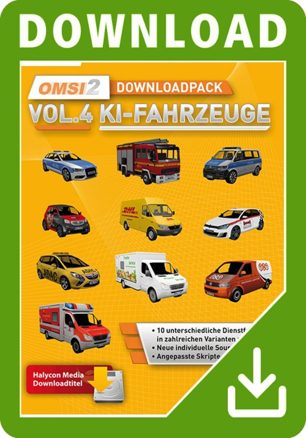 Just Trains - OMSI 2 Download Pack Vol  4 - AI Vehicles
