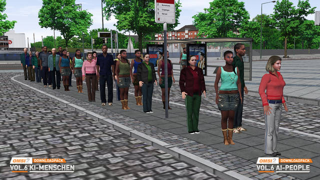 OMSI 2 Download Pack Vol. 6 - AI People