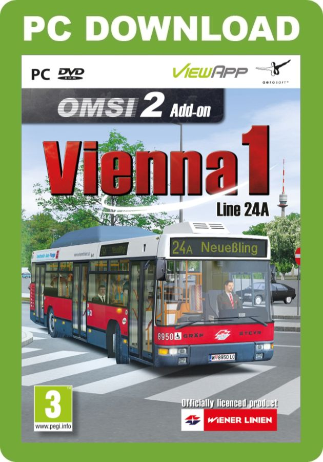 Just Trains - OMSI 2 Add-on - Vienna Line 24A