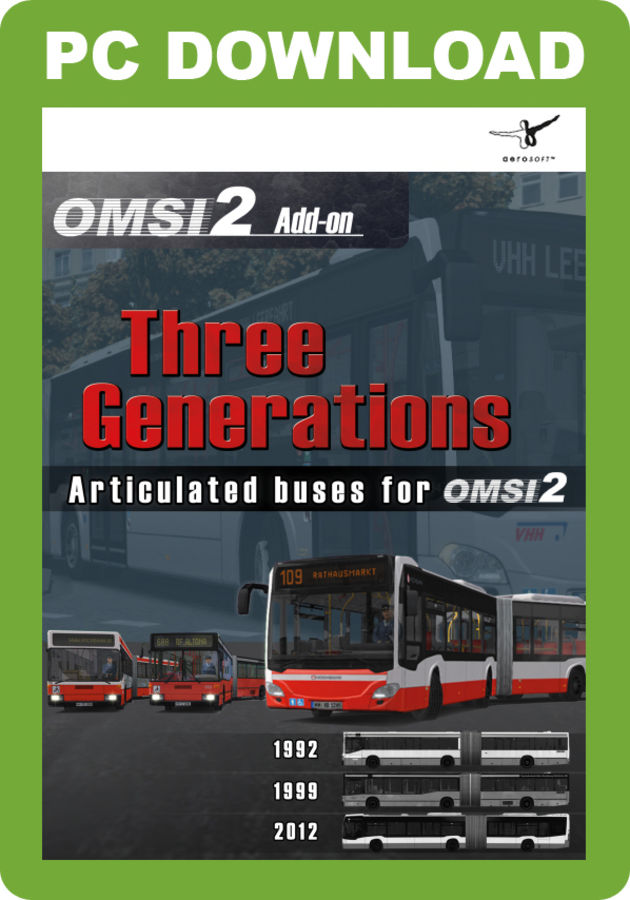 Just Trains - OMSI 2 Add-on - Three Generations