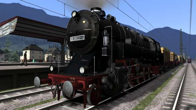 Romantic Railroads - German BR95 Locomotive