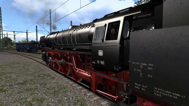 Romantic Railroads German BR01 Class Reboilered