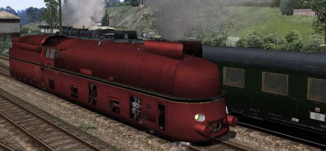 Romantic Railroads – The German BR03 Class locomotive