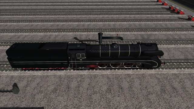 Romantic Railroads German BR10 Class Locomotive