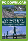 Southwest China High Speed Rail Network FOR CHENGDU-SUINING OWNERS