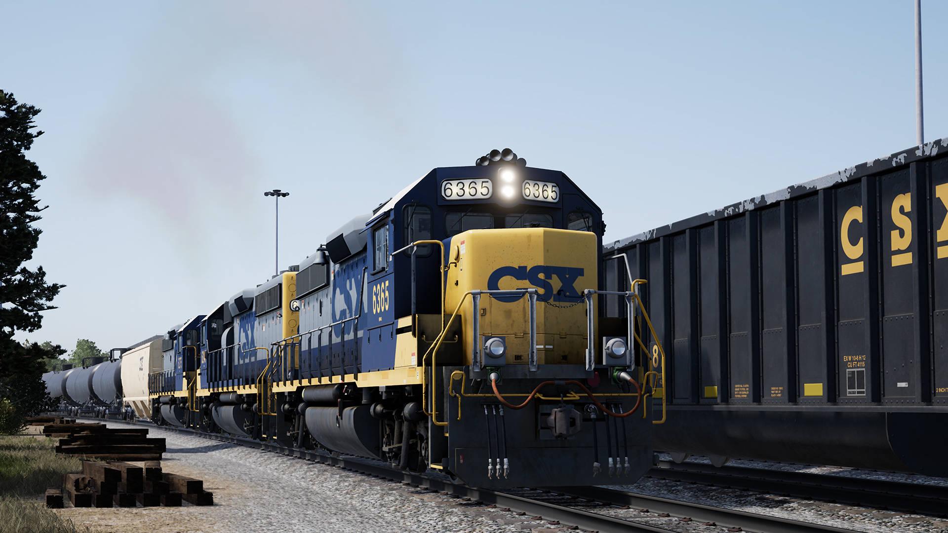Just Trains - Train Sim World: CSX GP40-2 Loco Add-On
