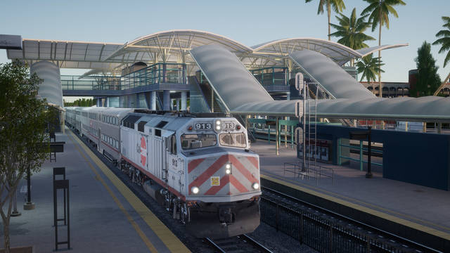 Train Sim World: Peninsula Corridor: San Francisco - San Jose Route Add-On