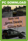 Trains & Drivers Basic Line Green Diesels Scenario Pack